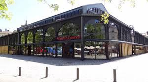 Marché couvert à Épinal - Hôtel Atrium